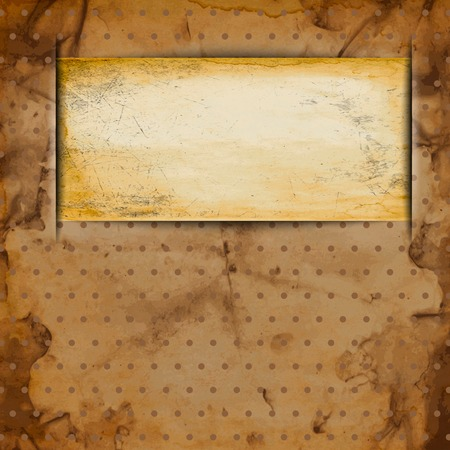 Abstract Old grungy paper background with texture and space for your text. . photo