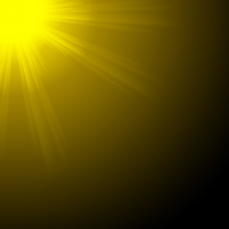 Abstract blurry background with overlying semi transparent circles, light effects and sun burst. . photo