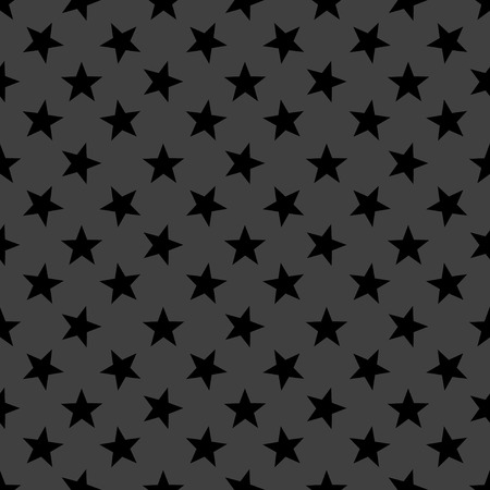 star web icon. flat design. Seamless gray pattern.