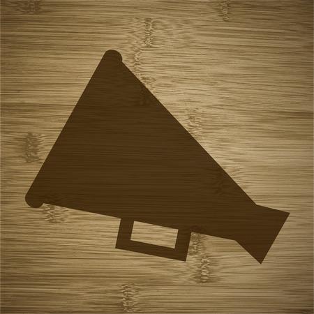 loudhailer: Megaphone, Loud-hailer .