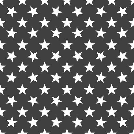 star web icon. flat design. Seamless gray pattern. photo