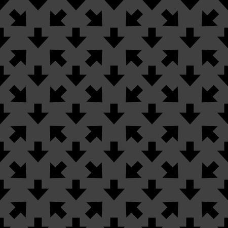 down Arrow web icon.  flat design. Seamless gray pattern. photo