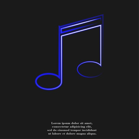 crotchets: Music notes on staves with abstract background.