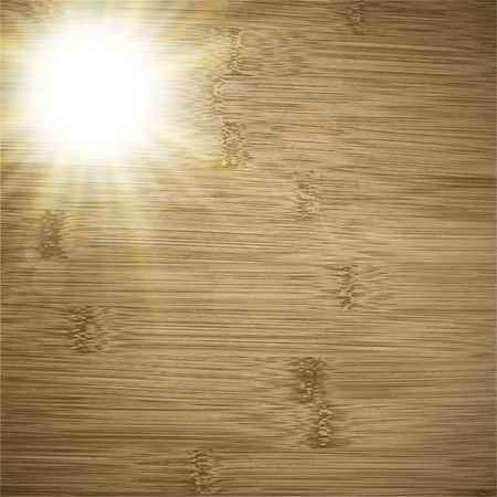 Abstract wooden background.  blurry light effects. Vector.