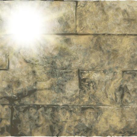 fondo de piedra: Fondo de piedra abstracto. efectos de luz borrosas. Vector. Vectores