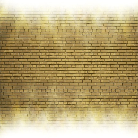 Abstract brick background.  blurry light effects.  Vector