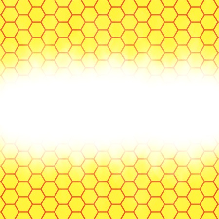Abstract honeycomb background.  blurry light effects. Vector. EPS10 Vector