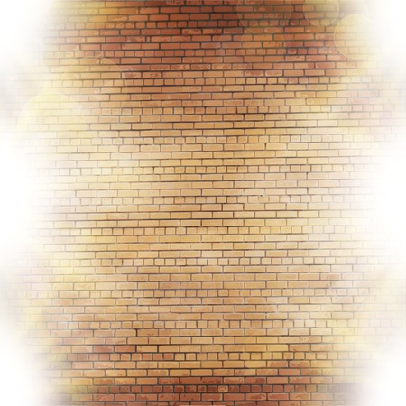semitransparent: Abstract brick background.  blurry light effects.