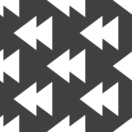 eject: multimedia control web icon. flat design. Seamless pattern.
