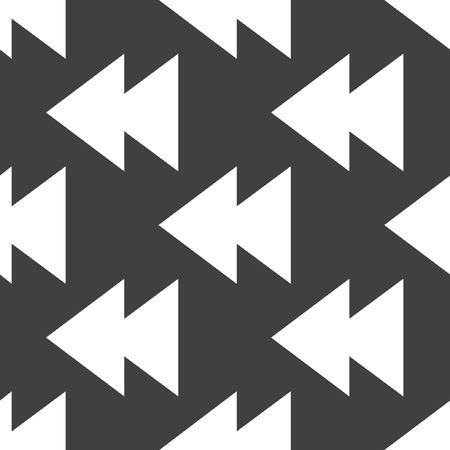multimedia control web icon. flat design. Seamless pattern.  Vector