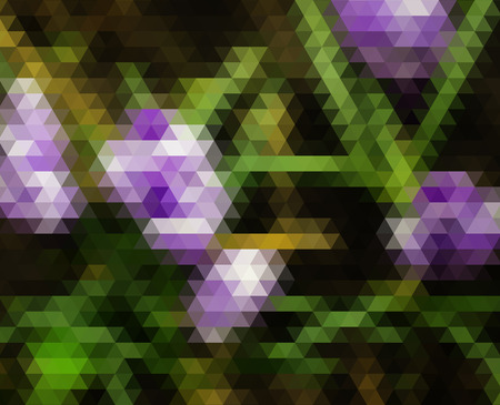 Abstract polygonal background. Triangles background for your design photo
