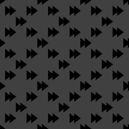 multimedia control web icon flat design. Seamless pattern.