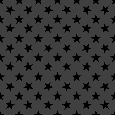star web icon flat design. Seamless gray pattern. photo