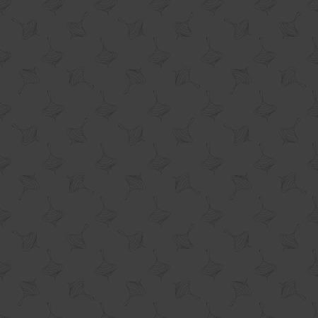 whirligig: whirligig web icon. flat design. Seamless gray pattern.  Vector EPS10