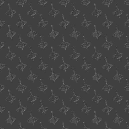 molinete: icono de web perinola. dise�o plano. Seamless patr�n gris. Vector EPS10