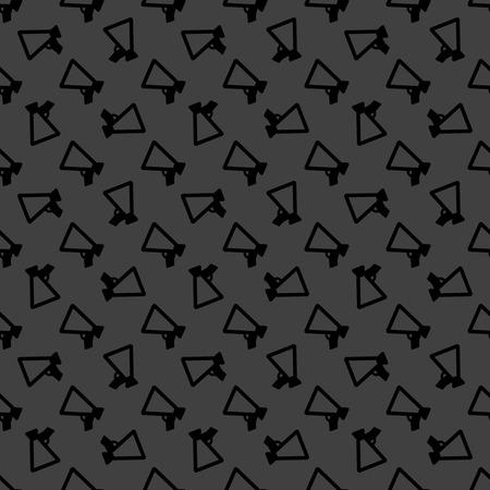 mouthpiece: Mouthpiece. web icon. flat design. Seamless pattern. Vector EPS10 Stock Photo