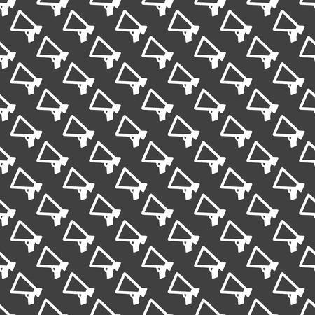 Mouthpiece. web icon. flat design. Seamless pattern. Vector EPS10 photo