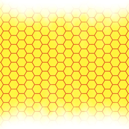 semitransparent: Abstract honeycomb background web design.  blurry light effects. .  Stock Photo
