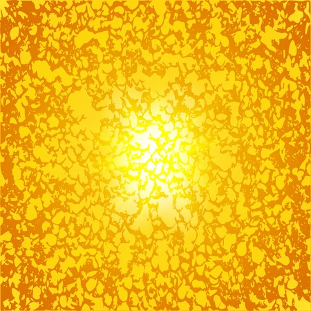 bright sun: Abstract neon background. blurry light effects. illustration