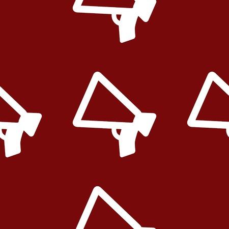 Mouthpiece. web icon flat design. Seamless pattern. photo