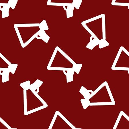 mouthpiece: Mouthpiece. web icon flat design. Seamless pattern.