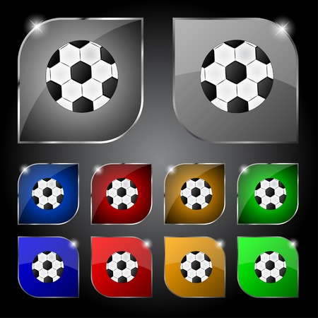 Football  sign icon.  Vector