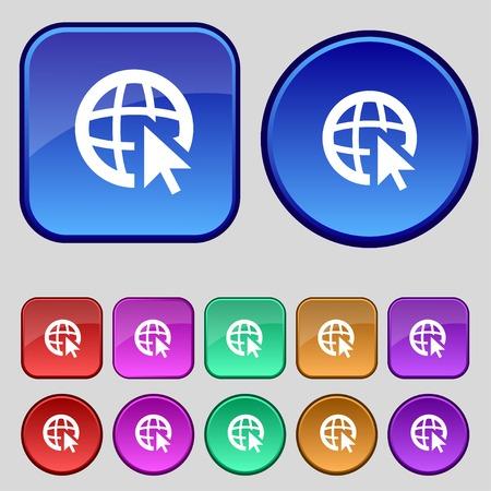 worldwideweb: World wide web simbolo.