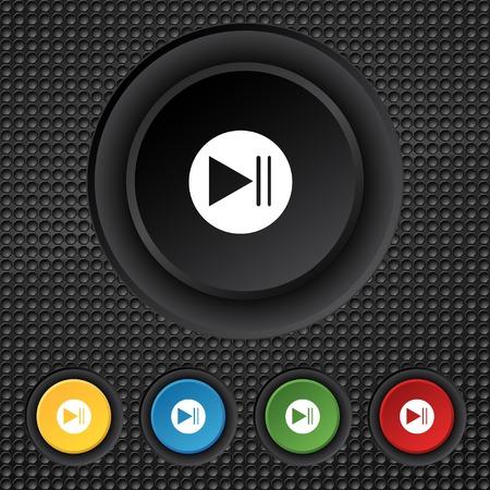 Next button.  Vector