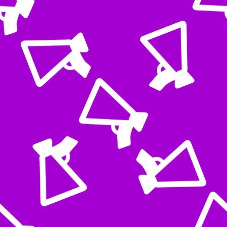 mouthpiece: Mouthpiece. web icon flat design. Seamless pattern. Vector EPS10 Illustration
