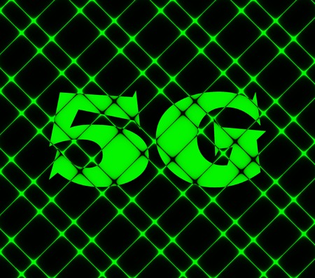 5g: 5G icon symbol Flat modern web design with long shadow and space for your text. Vector illustration