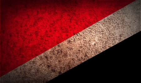 principality: Flag of The Principality Sealand with old texture.  illustration