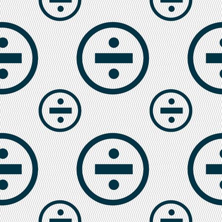 scheidingslijnen: delende pictogram teken. Naadloze patroon met geometrische textuur. Vector illustratie