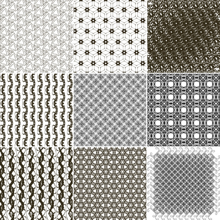 abstract vintage geometric wallpaper. NO seamless pattern background.  illustration Stock Photo