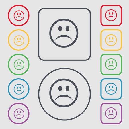 39868332-faccia-triste-tristezza-icona-d