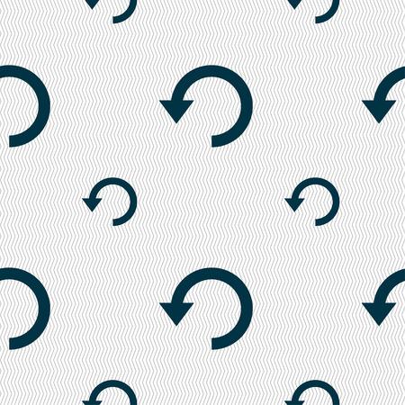 groupware: Upgrade, flecha, icon signo. Modelo incons�til con textura geom�trica. Ilustraci�n vectorial