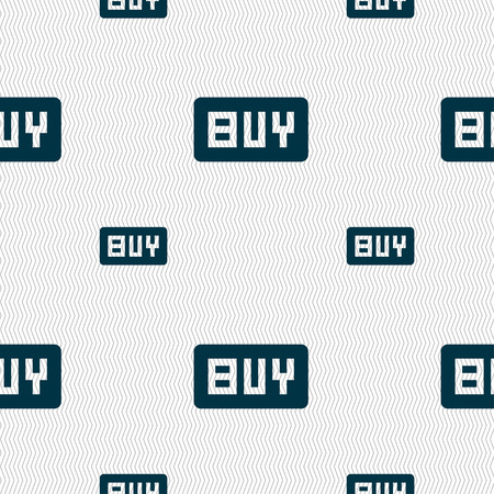 usd: Buy, Online buying dollar usd  icon sign. Seamless pattern with geometric texture. Vector illustration Illustration