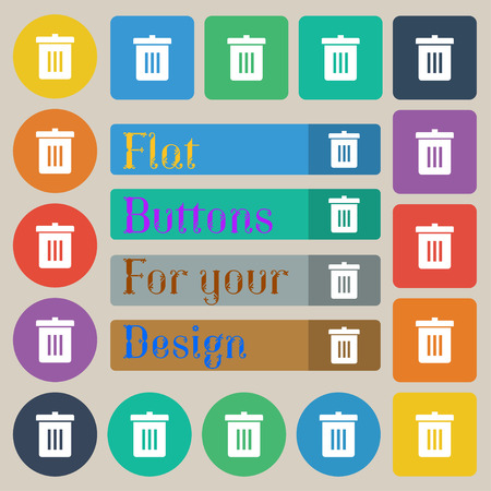 reduce: Recycle bin, Reuse or reduce Illustration