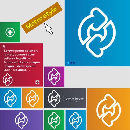groupware: Actualizar icono de signo. botones. Sitio web interfaz de modernos botones con el puntero del cursor. Ilustraci�n vectorial Vectores