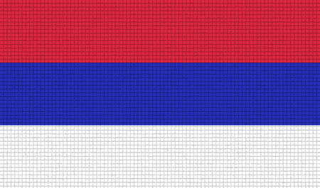 republika: Flags of Republika Srpska with abstract textures. Rasterized version