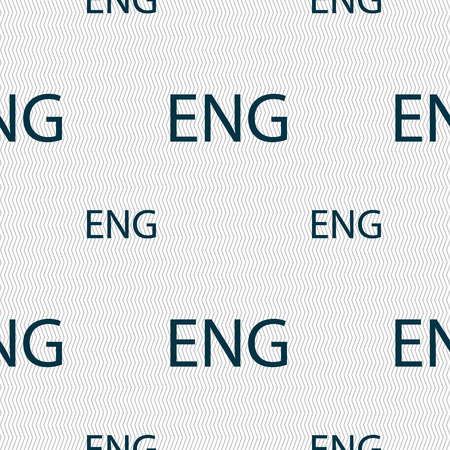 english culture: English sign icon. Great Britain symbol. Seamless pattern with geometric texture. Vector illustration