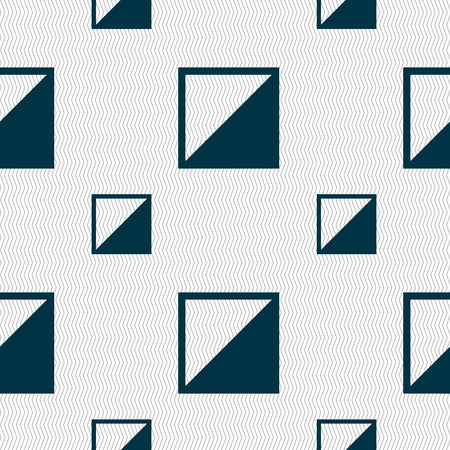 contraste: contrast icon sign. Seamless pattern with geometric texture. Vector illustration
