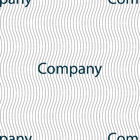 circl: company sign icon. tradition symbol. Business abstract circl. Seamless pattern with geometric texture. Vector illustration