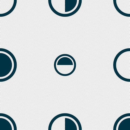 contraste: contrast icon sign. Seamless abstract background with geometric shapes. Vector illustration Vectores