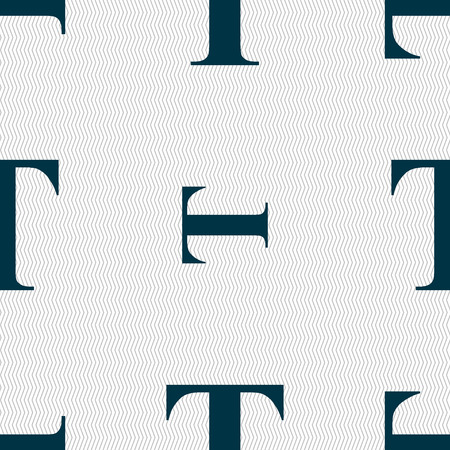 t document: Text edit icon sign. Seamless abstract background with geometric shapes. Vector illustration