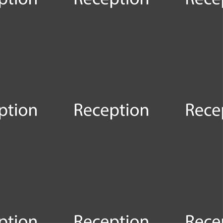 reception table: Reception sign icon. Hotel registration table symbol. Seamless pattern on a gray background. Vector illustration Illustration