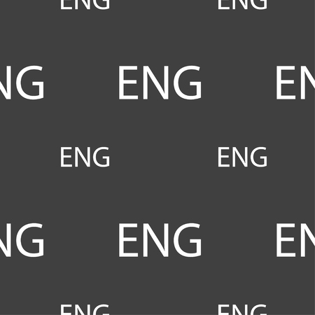 english culture: English sign icon. Great Britain symbol. Seamless pattern on a gray background. Vector illustration