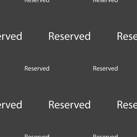 r�serv�: Reserved sign icon. Seamless pattern on a gray background. Vector illustration