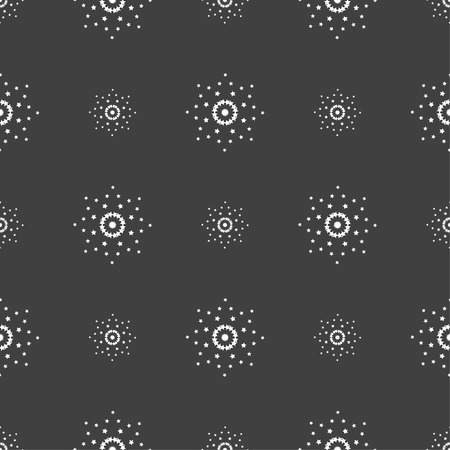 add icon: Cursor, arrow plus, add icon sign. Seamless pattern on a gray background. Vector illustration