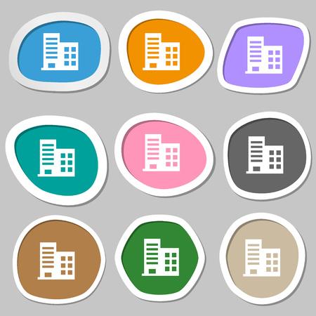 De Gran Altura Los Edificios Comerciales Y Apartamentos ...