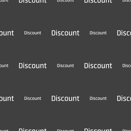 tokens: discount sign icon. Sale symbol. Special offer label. Seamless pattern on a gray background. illustration